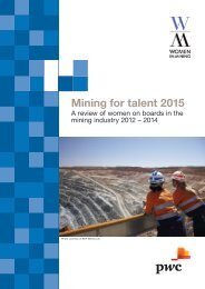 Mining for talent 2015