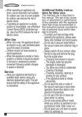 BlackandDecker Aspirateur Soufflant- Gw3050 - Type 1 - Instruction Manual (Anglaise) - Page 6