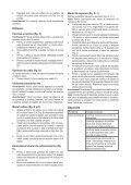 BlackandDecker Aspirateur Soufflant- Gw2600 - Type 5 - Instruction Manual (Roumanie) - Page 7