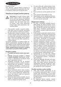 BlackandDecker Souffleur- Gw3000 - Type 5 - Instruction Manual (Slovaque) - Page 4