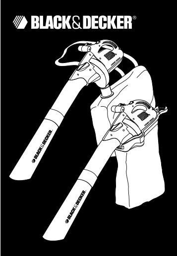 BlackandDecker Souffleur- Gw225 - Type 1 - Instruction Manual (Anglaise)