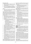 BlackandDecker Souffleur- Gw3000 - Type 4 - Instruction Manual (Turque) - Page 5