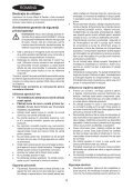 BlackandDecker Aspirateur Soufflant- Gw2600 - Type 6 - Instruction Manual (Roumanie) - Page 4