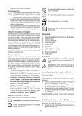 BlackandDecker Aspirateur Soufflant- Gw2600 - Type 6 - Instruction Manual (Roumanie) - Page 6
