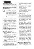 BlackandDecker Souffleur- Gw3000 - Type 5 - Instruction Manual (la Hongrie) - Page 4