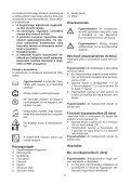 BlackandDecker Souffleur- Gw3000 - Type 5 - Instruction Manual (la Hongrie) - Page 7