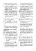 BlackandDecker Aspirateur Soufflant- Gwc3600l - Type 1 - Instruction Manual (la Hongrie) - Page 6