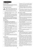 BlackandDecker Aspirateur Soufflant- Gw2200 - Type 1 - Instruction Manual (Turque) - Page 4