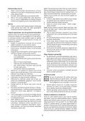 BlackandDecker Aspirateur Soufflant- Gw2200 - Type 1 - Instruction Manual (Turque) - Page 5