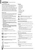 BlackandDecker Aspirateur Soufflant- Gw2200 - Type 1 - Instruction Manual (Européen) - Page 6