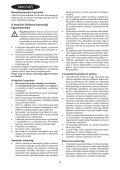 BlackandDecker Aspirateur Soufflant- Gw2200 - Type 1 - Instruction Manual (la Hongrie) - Page 4