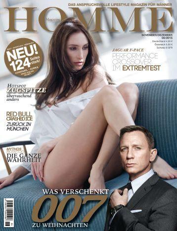 HOMME MAGAZINE Ausgabe 06/2015