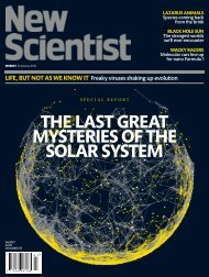 the last great mysteries of the solar system