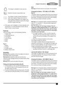 BlackandDecker Taille-Haies S/f- Gtc1850n - Type H1 - Instruction Manual (Anglaise) - Page 7