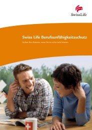 Swiss Life Berufsunfähigkeitsschutz - HP Finanz