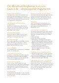 Swiss Life Berufsunfähigkeitsschutz - HP Finanz - Seite 6