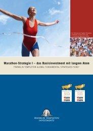 Marathon-Strategie I – das Basisinvestment mit langem ... - HP Finanz