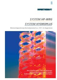 Systeme - HOWATHERM