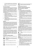 BlackandDecker Taille-Haies S/f- Gtc3655l - Type H1 - Instruction Manual (Pologne) - Page 6