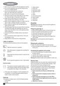 BlackandDecker Coupe-Bordure- Gl701 - Type 3 - Instruction Manual (Européen) - Page 6