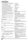 BlackandDecker Coupe-Bordure- Gl710 - Type 3 - Instruction Manual (Européen) - Page 6