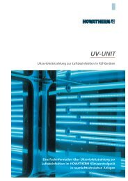 UV Unit - HOWATHERM