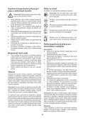 BlackandDecker Debroussaileuse- Gsl200 - Type H1 - Instruction Manual (Slovaque) - Page 6