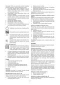 BlackandDecker Debroussaileuse- Gsl200 - Type H1 - Instruction Manual (Slovaque) - Page 7