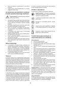 BlackandDecker Debroussaileuse- Gsl200 - Type H1 - Instruction Manual (la Hongrie) - Page 6