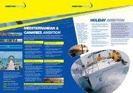 Holiday Ambition - Ambition Sailing