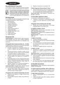 BlackandDecker Tondeuse Rotative- Emax38 - Type 1 - Instruction Manual (la Hongrie) - Page 2