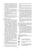 BlackandDecker Tondeuse Rotative- Gr3400 - Type 1 - 2 - Instruction Manual (la Hongrie) - Page 6