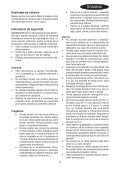 BlackandDecker Tondeuse Rotative- Gr3400 - Type 1 - 2 - Instruction Manual (Roumanie) - Page 5