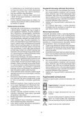 BlackandDecker Tondeuse Rotative- Emax42 - Type 3 - Instruction Manual (la Hongrie) - Page 7