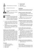 BlackandDecker Tondeuse Rotative- Gr3410 - Type 1 - Instruction Manual (Roumanie) - Page 7