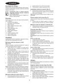 BlackandDecker Tondeuse Rotative- Emax34 - Type 1 - Instruction Manual (Roumanie) - Page 2
