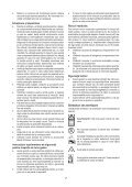 BlackandDecker Tondeuse Rotative- Emax34 - Type 1 - Instruction Manual (Roumanie) - Page 7