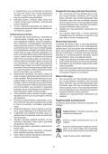 BlackandDecker Tondeuse Rotative- Emax42 - Type 1 - Instruction Manual (la Hongrie) - Page 7