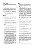 BlackandDecker Tondeuse Rotative- Emax32 - Type 2 - Instruction Manual (Tchèque) - Page 6
