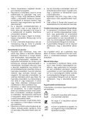 BlackandDecker Tondeuse- Gr3900 - Type 1 - 2 - Instruction Manual (la Hongrie) - Page 6