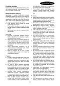 BlackandDecker Tondeuse- Gr3900 - Type 1 - 2 - Instruction Manual (Slovaque) - Page 5