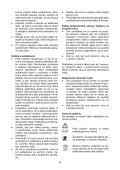 BlackandDecker Tondeuse- Gr3900 - Type 1 - 2 - Instruction Manual (Slovaque) - Page 6