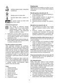 BlackandDecker Tondeuse- Gr3900 - Type 1 - 2 - Instruction Manual (Slovaque) - Page 7