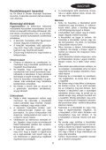 BlackandDecker Tondeuse Rotative- Gr3820 - Type 1 - Instruction Manual (la Hongrie) - Page 5