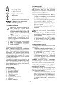BlackandDecker Tondeuse Rotative- Gr3820 - Type 1 - Instruction Manual (la Hongrie) - Page 7