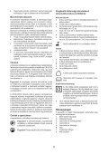 BlackandDecker Elagueur- Gkc108 - Type H1 - Instruction Manual (la Hongrie) - Page 5