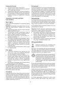 BlackandDecker Elagueur- Gkc108 - Type H1 - Instruction Manual (la Hongrie) - Page 7