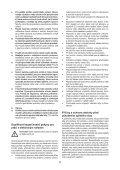 BlackandDecker Tronconneuse- Gkc1817 - Type H1 - Instruction Manual (Tchèque) - Page 5