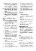 BlackandDecker Tronconneuse- Gkc1817 - Type H1 - Instruction Manual (Tchèque) - Page 6