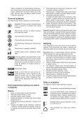 BlackandDecker Tronconneuse- Gkc1817 - Type H1 - Instruction Manual (Tchèque) - Page 7